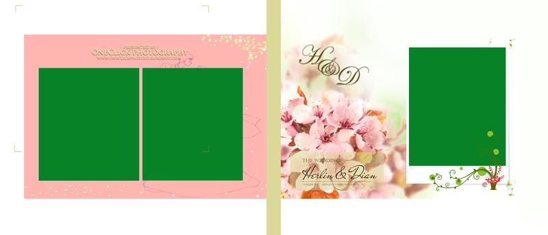 1 Cover Album Kolase Korean Style By Oneclick Photography 20x60 Landscape 2 Psd Kolase Foto Perkawinan Pernikahan