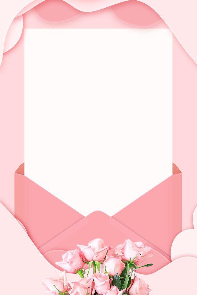 Karta Zaproszenie Literacka Karta Zaproszenie Różowy, Świeży, Literacki, Róża Obraz tła do pobrania za darmo