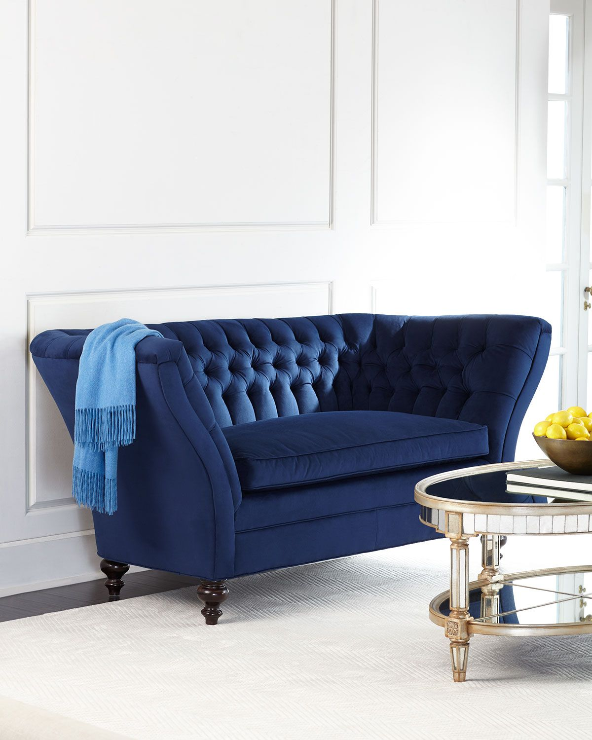 Old Hickory Tannery Imperial Tufted Sofa Furniture
