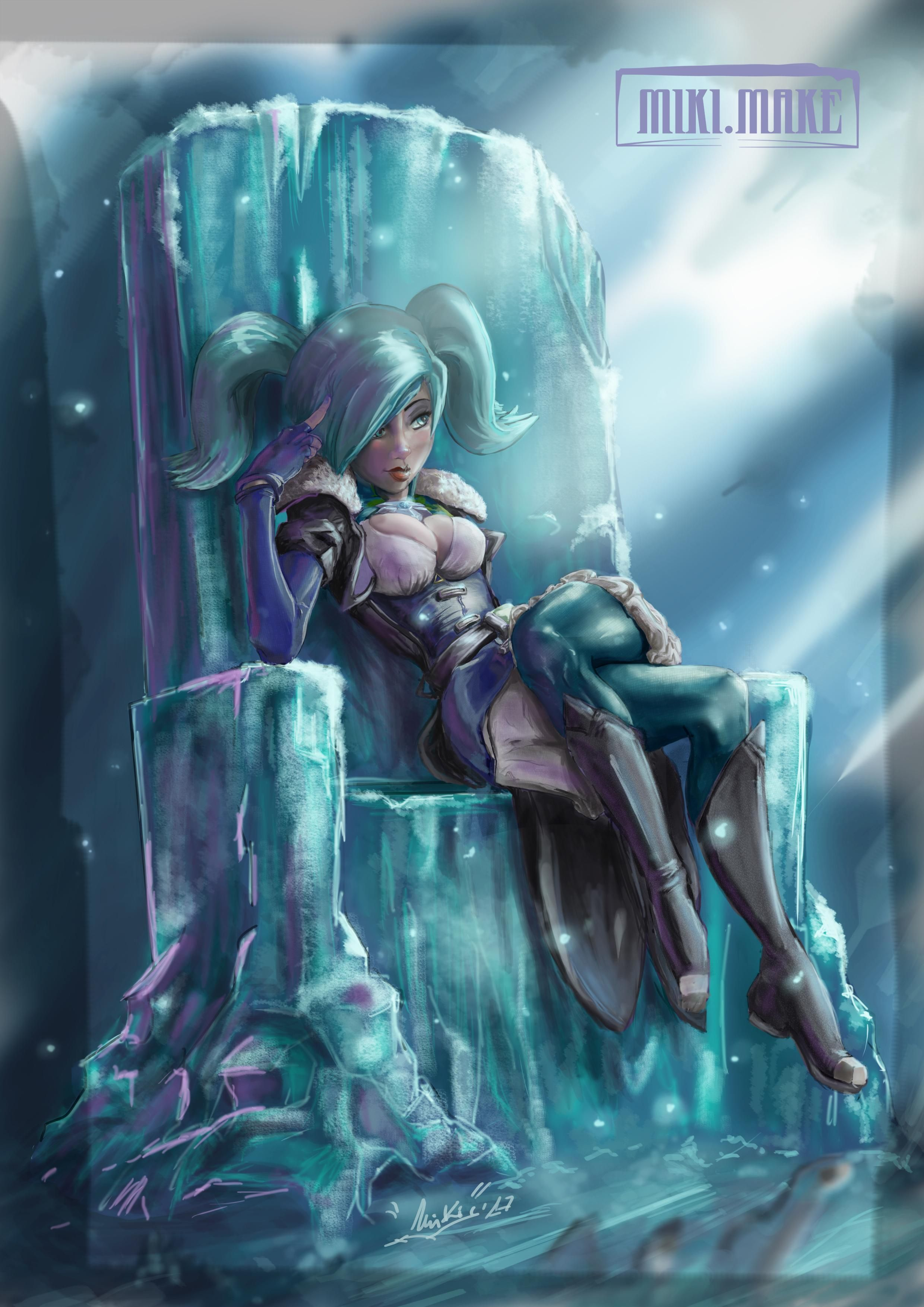 The Ice Throne Of Evie Paladins Stuff Pinterest