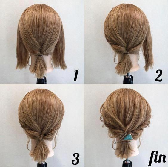 Simple Diy Hairstyles Everyday: Latest Easy Hairstyles #easyhairstyles