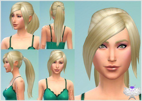Sims 4 Frisuren Pinterest Sims