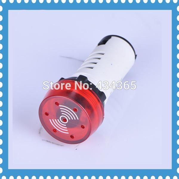 Pilot Lamp 5pcs Ad16 22sm Indication Light Signal Lamp Flash Buzzer 24v Led Color Indicator Lights Led Indicator
