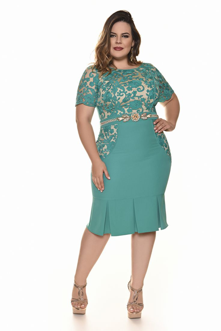 b0e58117725 Resultado de imagem para modelos de vestidos | Plus size | Vestidos ...