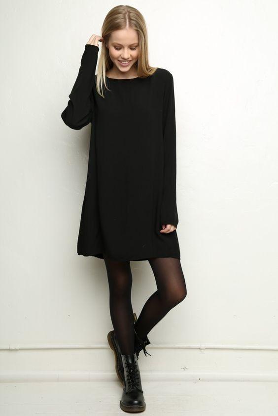 2409b8230c3d Total black looks  12 πρωινά και βραδινά ντυσίματα μόνο με μαύρο ...