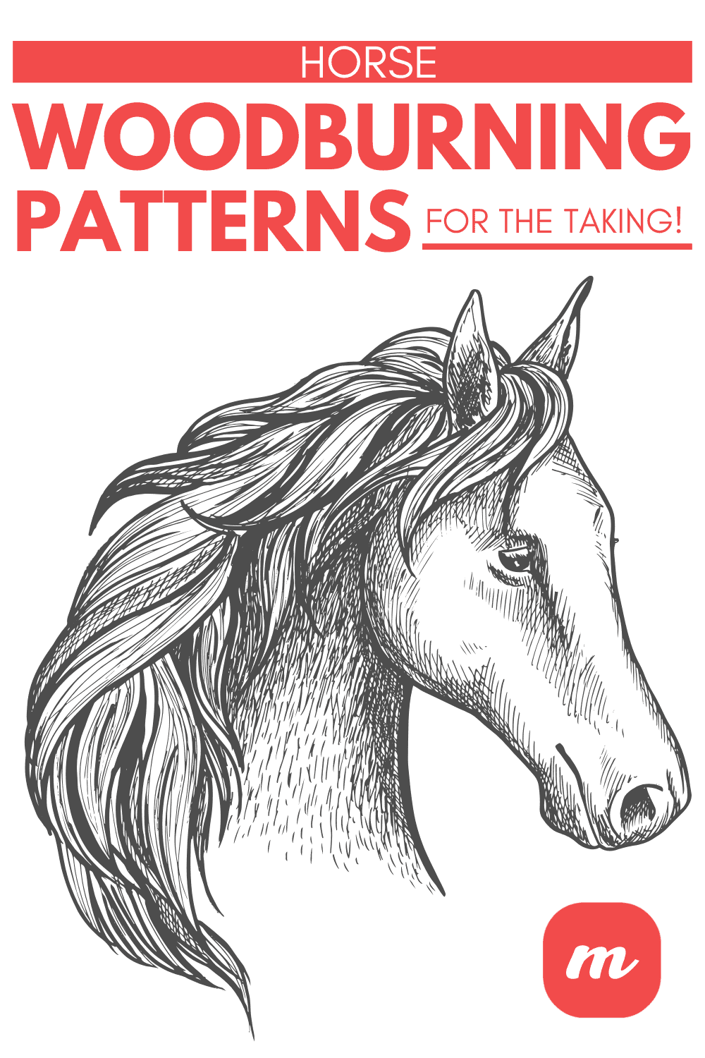 Horse Woodburning Patterns For The Taking! in 2020 | Wood ...