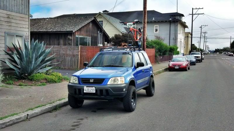 rd1 lifted. roof rack | honda crv rd1 | Pinterest | Roof ...
