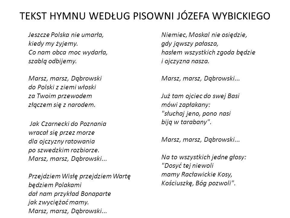 Znalezione Obrazy Dla Zapytania Hymn Polski Tekst Hymn
