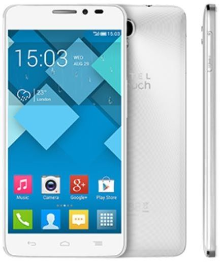 Alcatel IDOL X+ - 16GB, Android OS, 3G + Wifi, Spin White