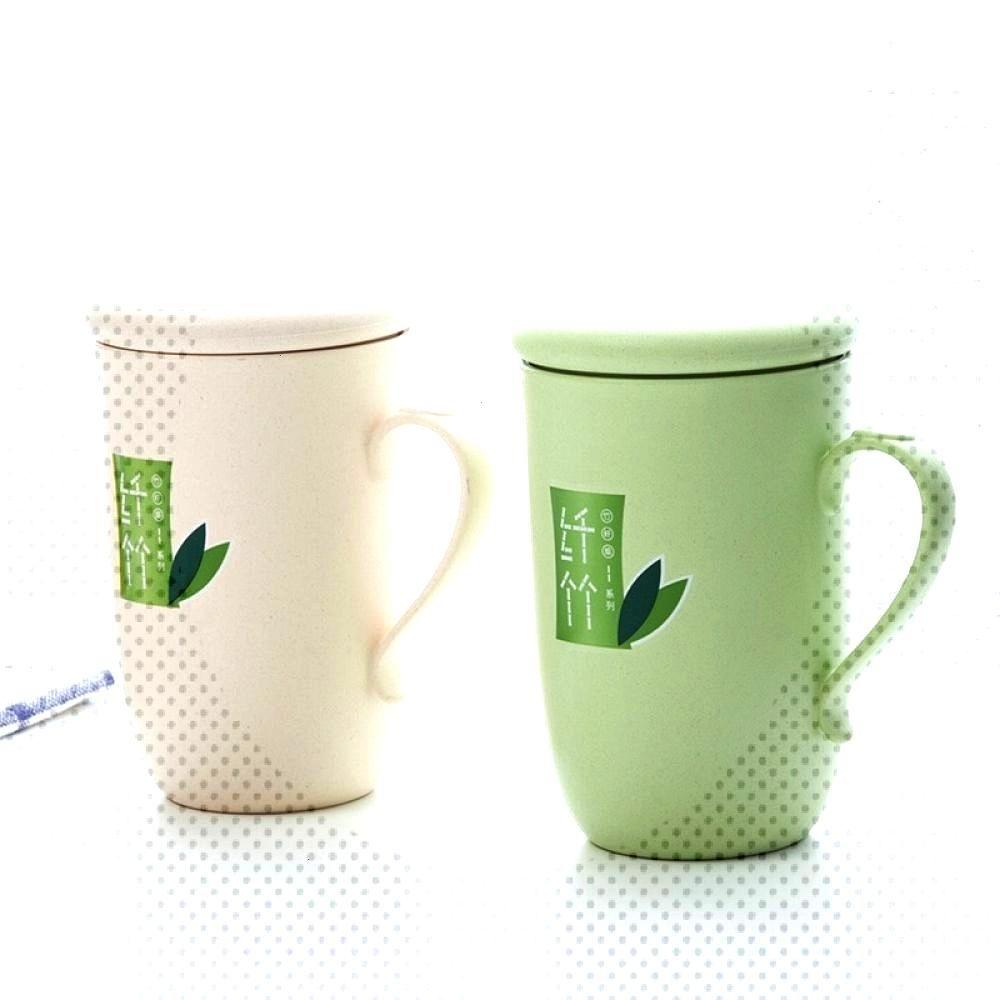 Cute Universal Thickened Eco-Friendly Bamboo Coffee Mug Price $ 8.25 amp FREE Shipping