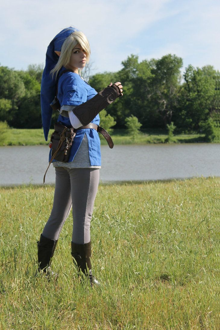 Blue Tunic Link Cosplay 6 by Juliana-Nasome