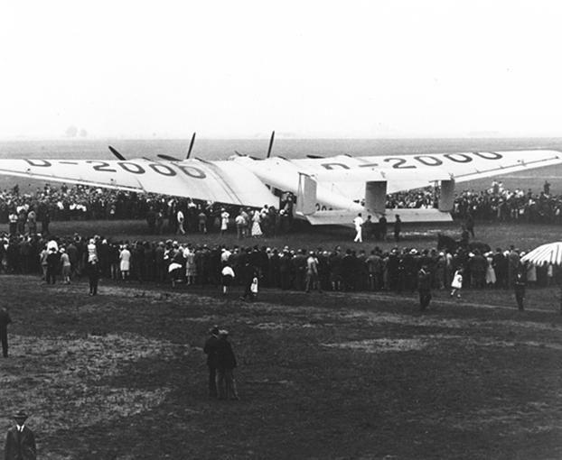 Der 6. Juli 1930 war ein besonderer Tag für den Flughafen