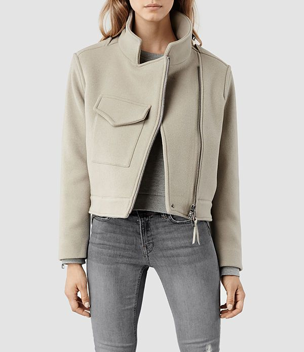 Suki Cropped M65 Jacket, ALLSAINTS