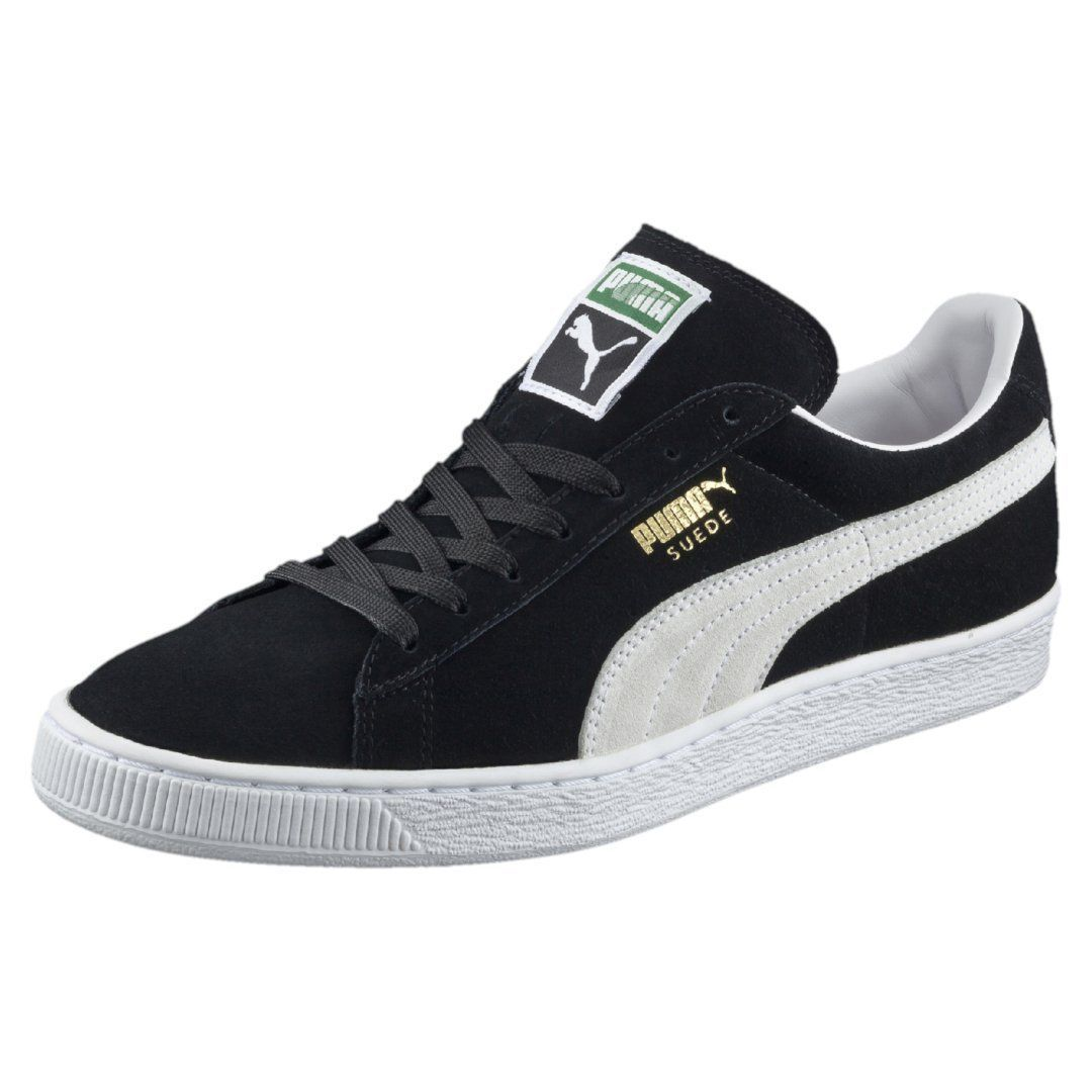 Suede Classic Black / 352634-03 / Mens Puma 60s Low Plus White Free Ship