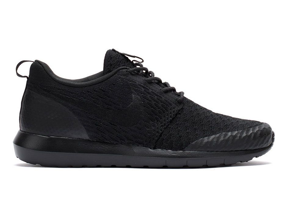 One Of The Best All-Black Flyknits Are Actually Nike Roshes - SneakerNews.com