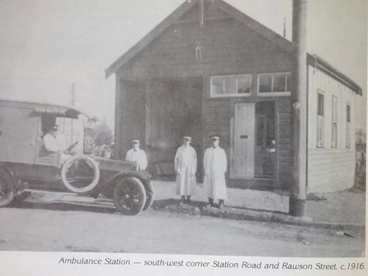 Auburn Ambulance Station At The South West Corner Of Station Rd