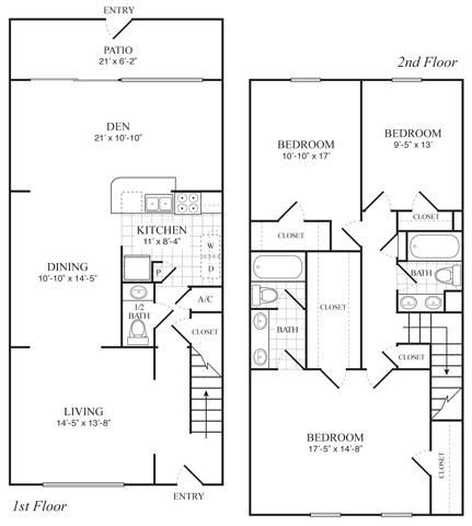 The Nottingham Village Apartments 14250 Kimberely Ln Houston Tx 77079 The Mansion Townhome