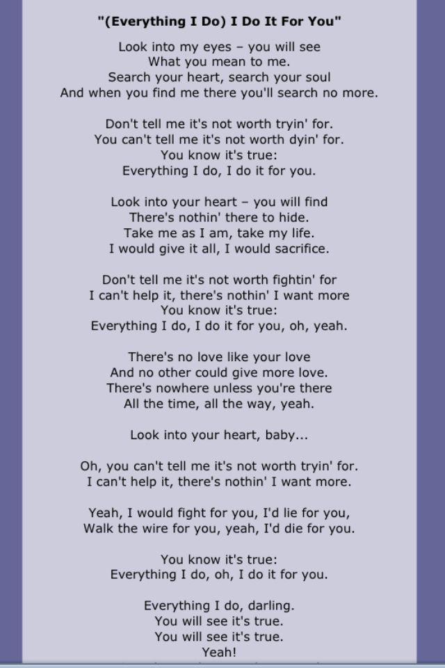 Bryan Adams Great Song Lyrics Music Quotes Lyrics Love Songs Lyrics