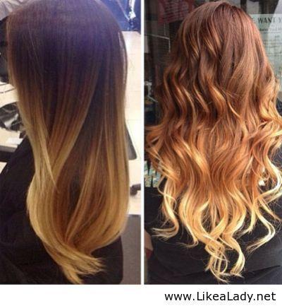 ombre hairstyles - Google Search   O m b r e H a i r s t y l e s ...