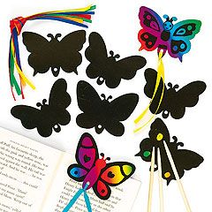 Insect Scratch Art Magnets - Bakerross 26587eee342d