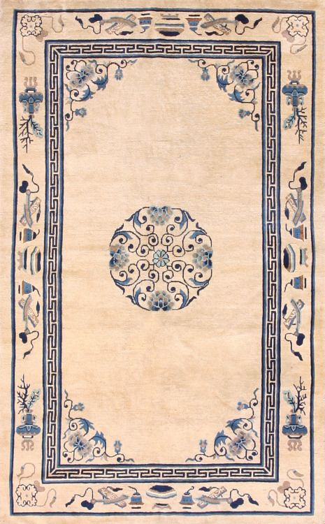 "251 Chinese Peking carpet 4'8"" x 7'5"" (con immagini"