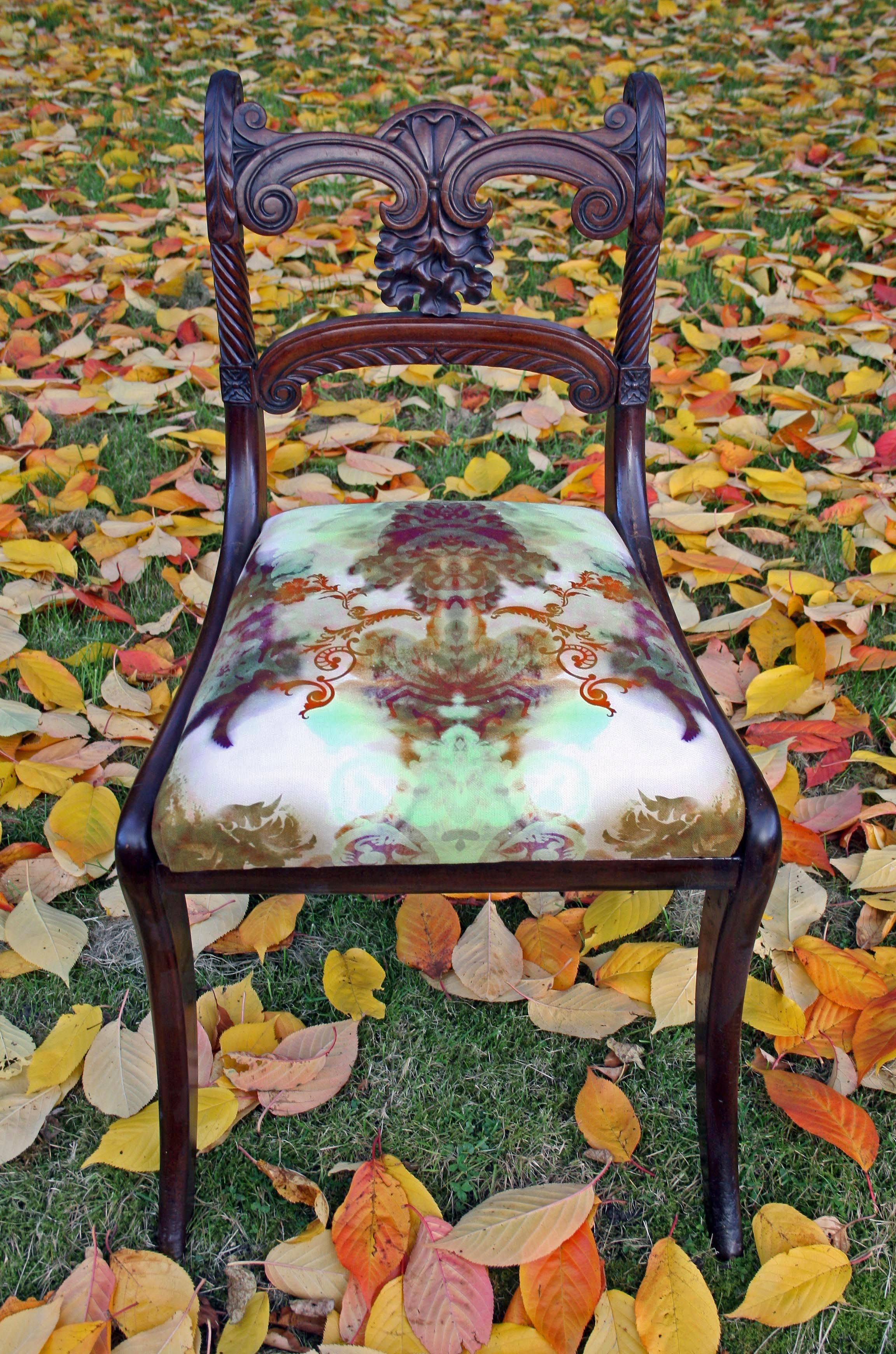 Timorous Beasties Chic Blotch Damask Chair Designed For Living