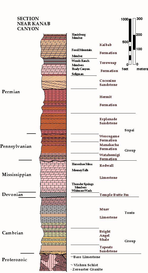 Pin By Mitchell Loki On Stratigraphic Columns Pinterest Grand