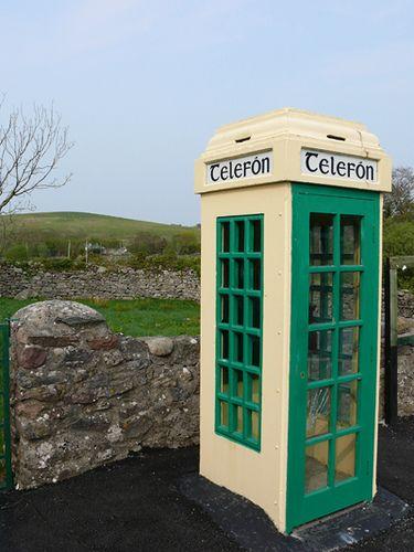 Green phone boxes in ireland | Ireland On My Mind | Go irish, Old