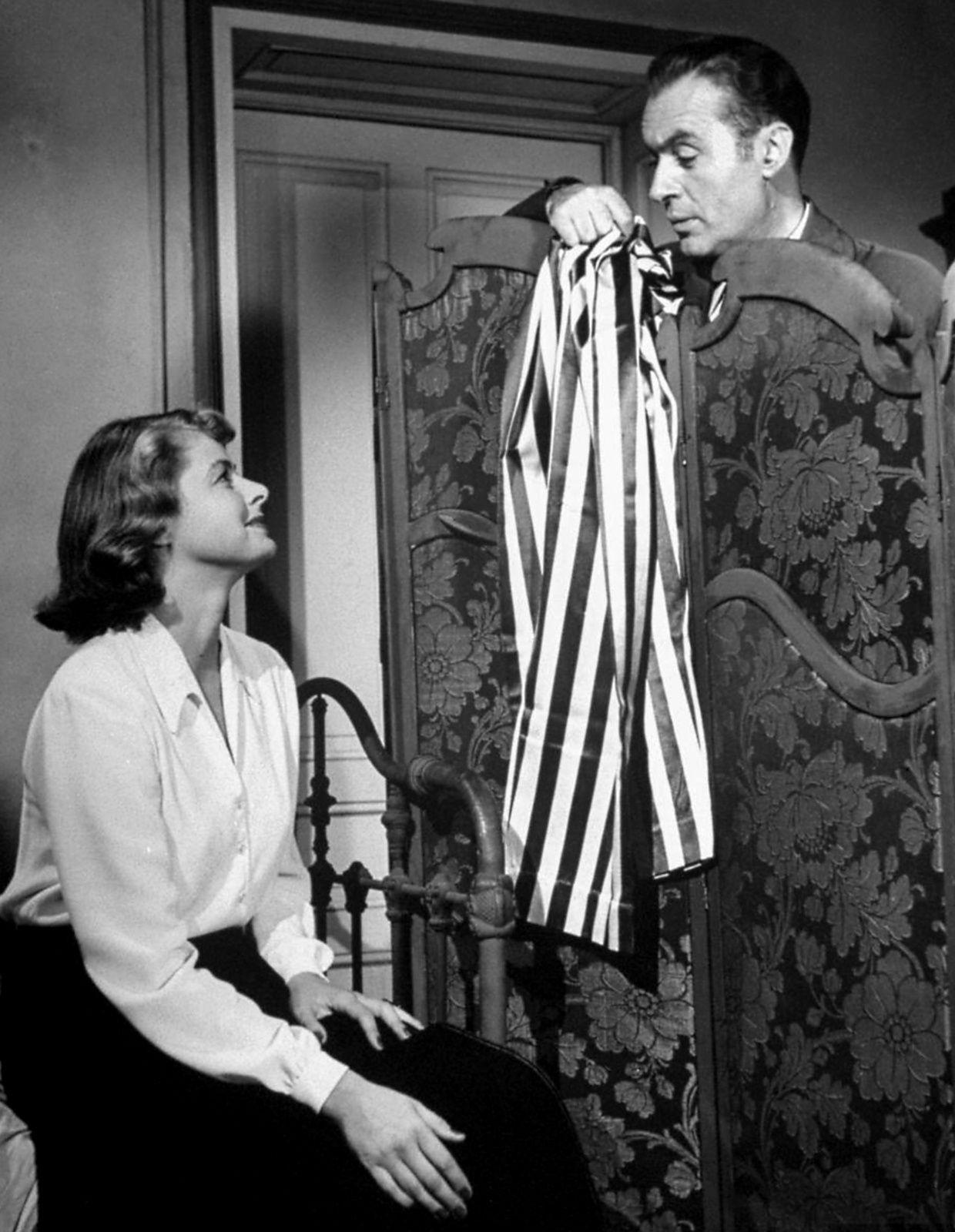 Ingrid Bergman with Charles Boyer