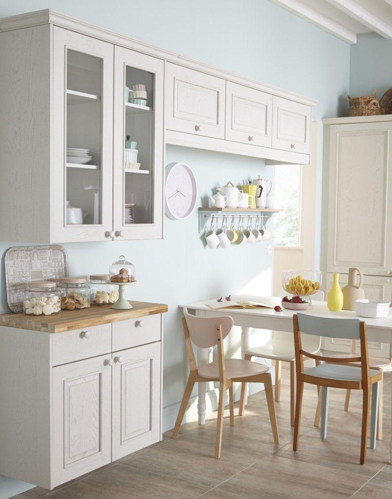 Cuisine Blanc Beige Naturel Delinia Charme Romantique Baroque Meuble Cuisine Blanc Meuble Cuisine Renovation Cuisine
