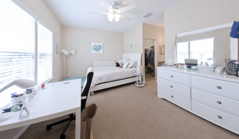 Bedroom at Latitude 29° Luxury Apartments in Gainesville