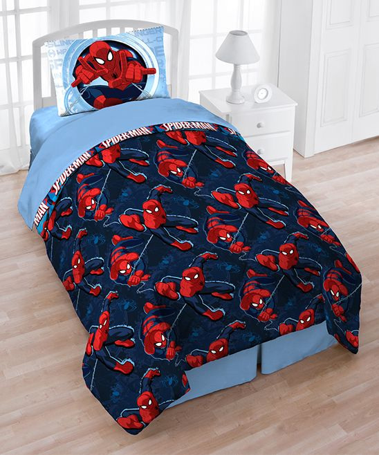 Marvel Spider Man Spider Leap Three Piece Twin Sheet Set