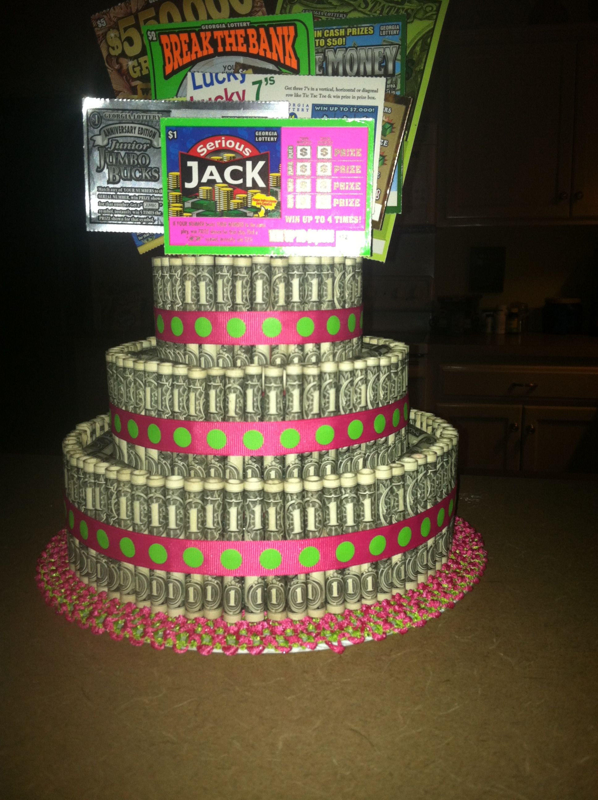 Money Cake Best Cake Ever Birthday Family Friends Money