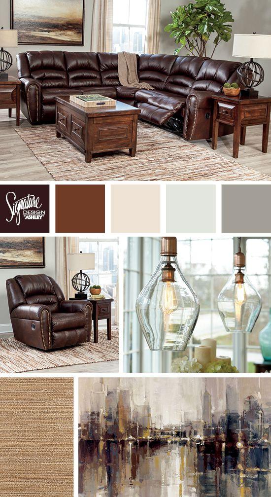 Manzanola Sectional  Ashley Furniture  Color