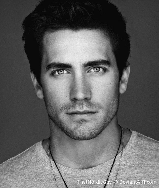 Matt Bomer / Jake Gyllenhaal | 18 Celebrities Morphed Into Stunningly Perfect People