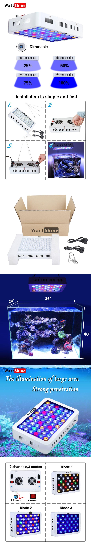 image tank pinterest light elegant of quality new lights blue aquarium reef led kessil fish best