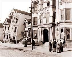 vintage San Francisco,1906