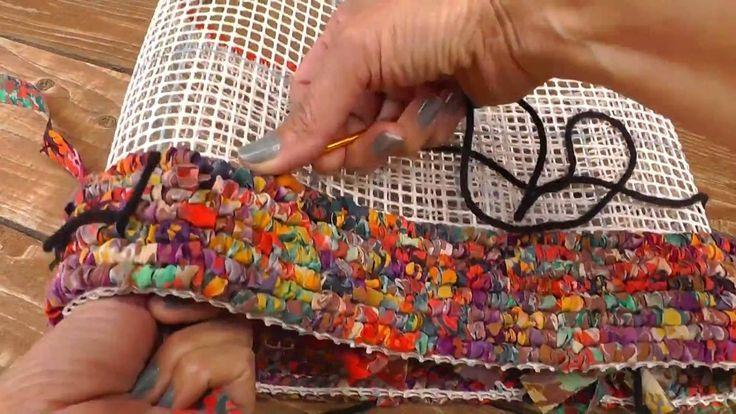 Locker Hooking The Confetti Tote Bag Youtube коврики своими