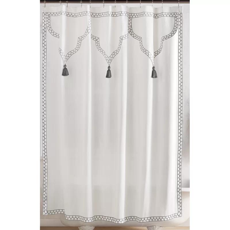 John Robshaw Aloka Bath Towels Blue Shower Curtains Designer