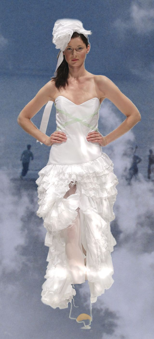 Brautkleid #Hochzeitskleid Kaska Hass Couture Windsbraut http://www ...