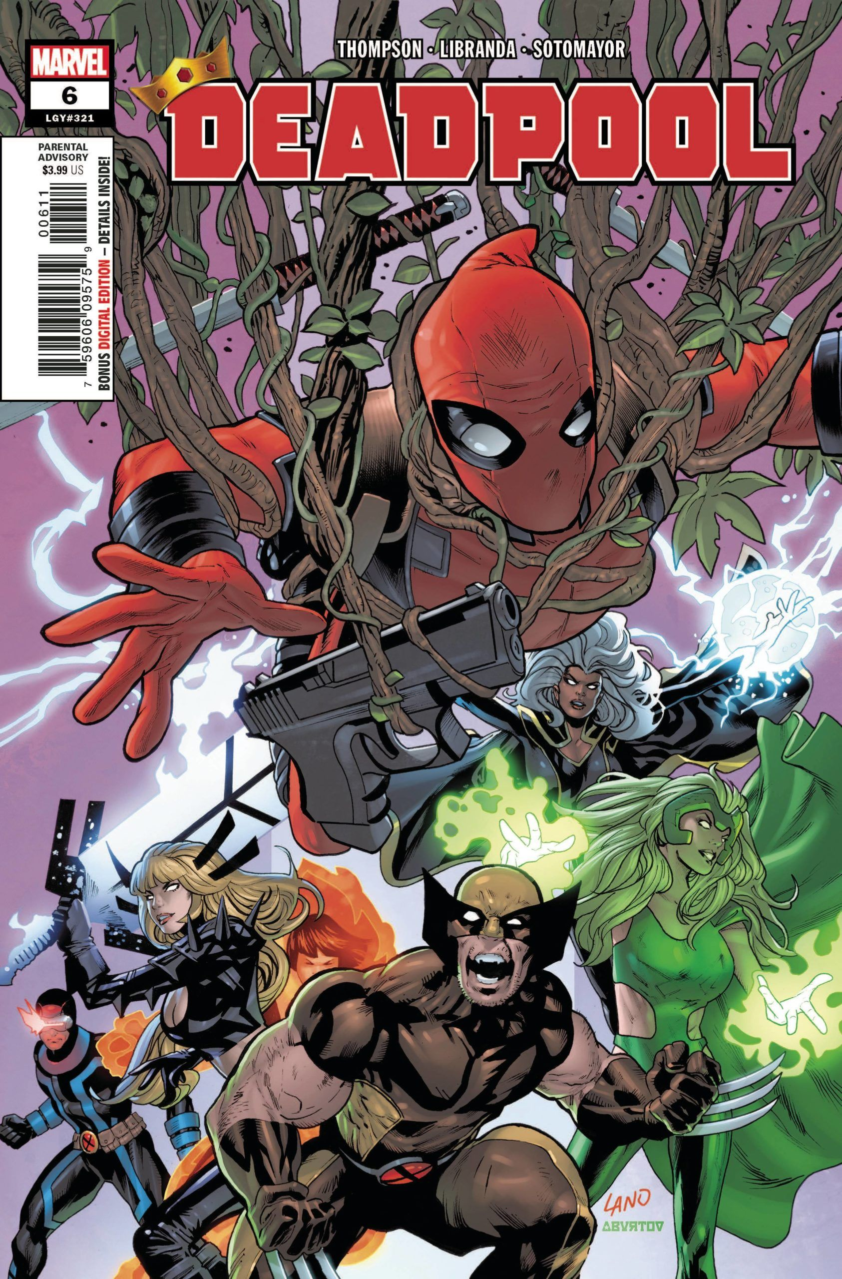 Deadpool 6 Marvel 2020 Nm In 2020 Deadpool Marvel Marvel Deadpool