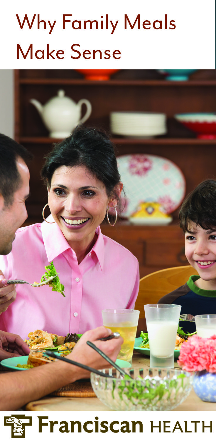 Family meals can mean more than better nutrition children