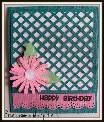 Precious Memories Scrapbooking: birthday card