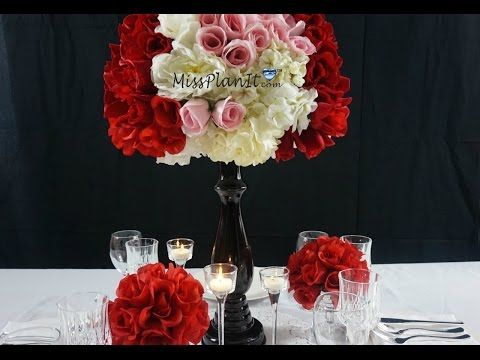 Dollar tree inspired diy having a ball valentines day wedding dollar tree inspired diy having a ball valentines day wedding centerpiece youtube junglespirit Image collections