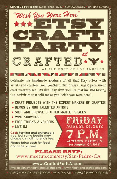 crafted party 2012