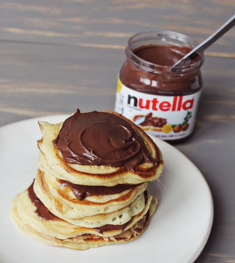 Ma Recette De Pancakes Foodie Pinterest Nutella Nutella