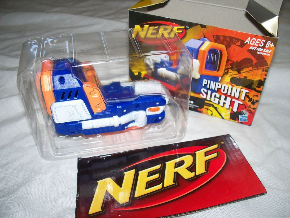 USA SHIPPER *New Elite Nerf n Strike Pinpoint Red Dot SIGHT / SCOPE by  Hasbro