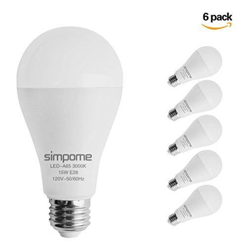 Philips 100 Watt Equivalent A19 Non Dimmable Energy Saving Led Light Bulb Daylight 5000k 2 Pack Led Light Bulb Light Bulb