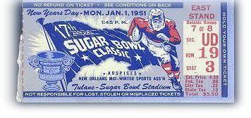 Sugar Bowl ticket   Bear bryant, Kentucky wildcats, High ...