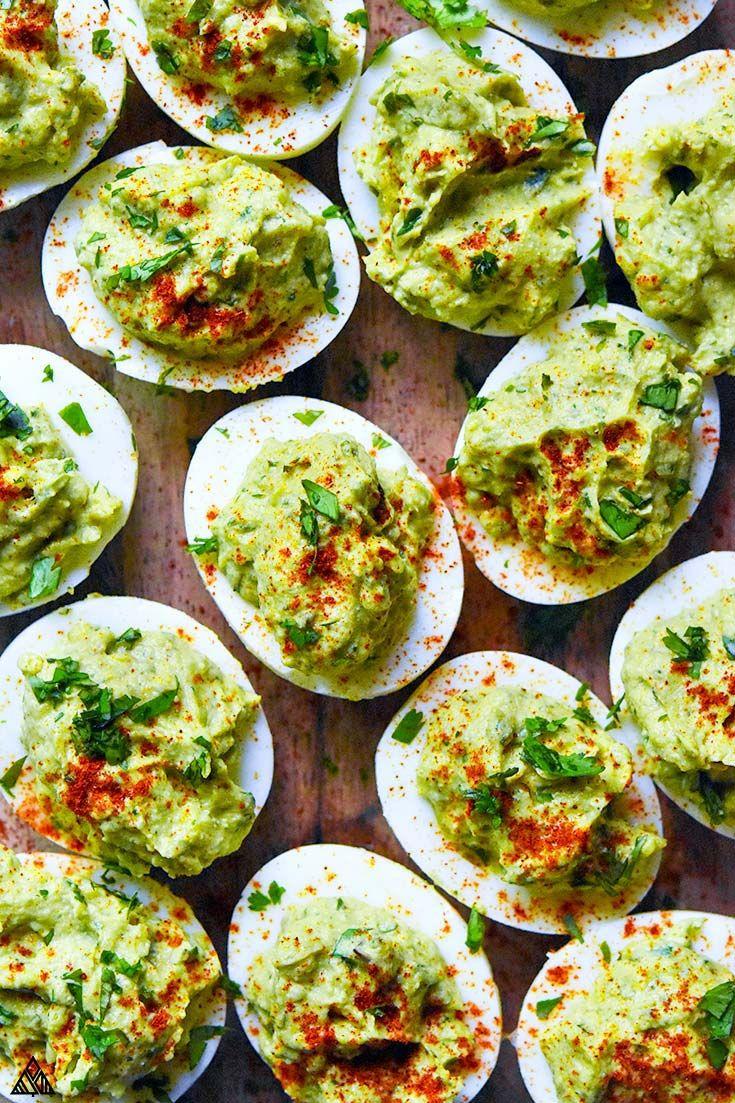 Avocado Deviled Eggs (Paleo + Low Carb!)